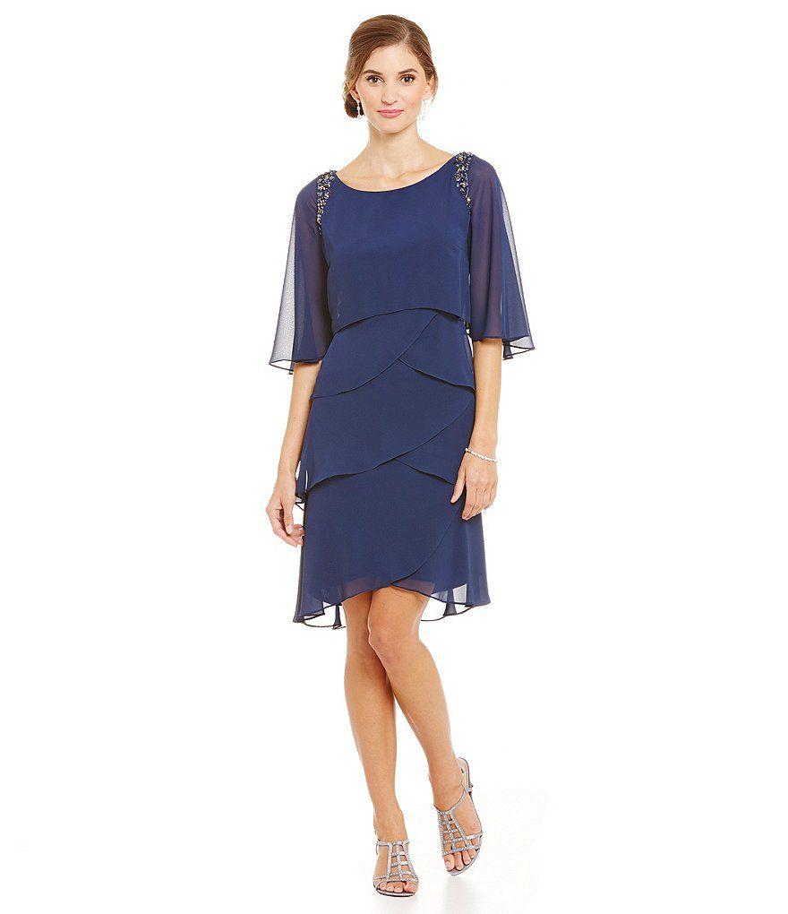Sl sl fashion dresses - Shop For S L Fashions Bead Trim Tiered Dress At Dillards Com Visit Dillards