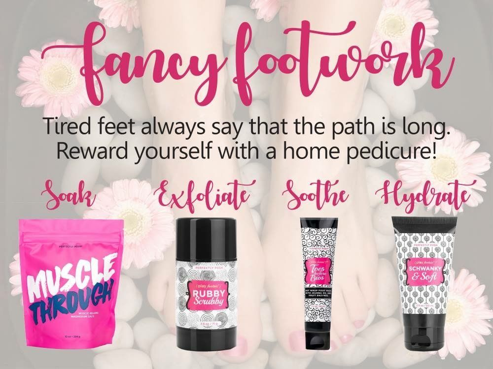 Fancy footwork Perfectly posh consultant, Perfectly posh