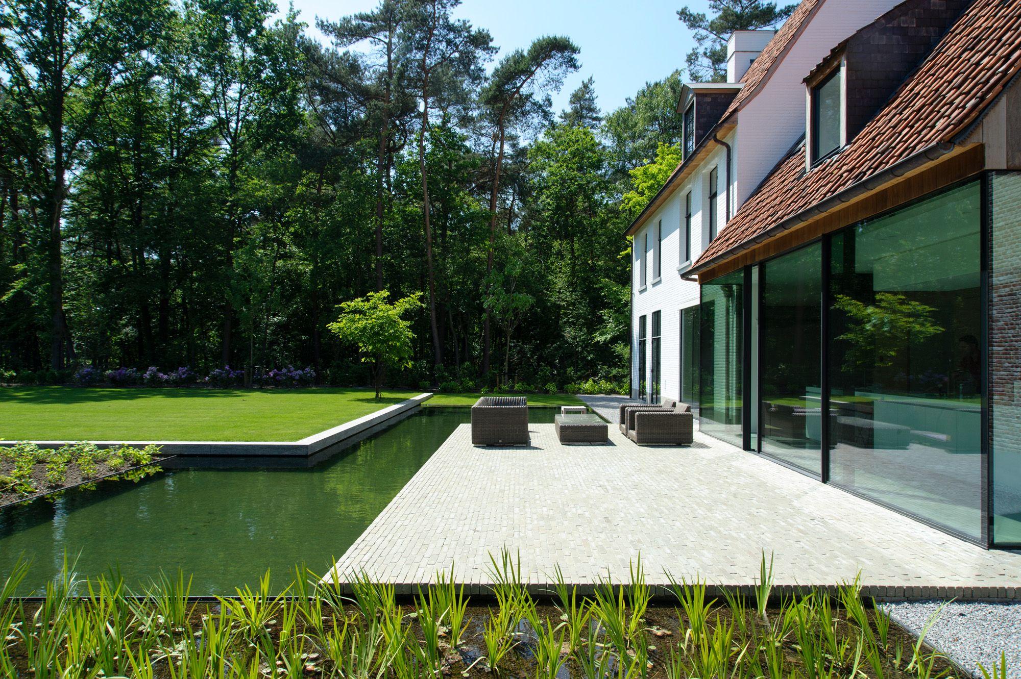 Vlassak architects architect pieter vlassak tijdloos for Tuin verbouwen