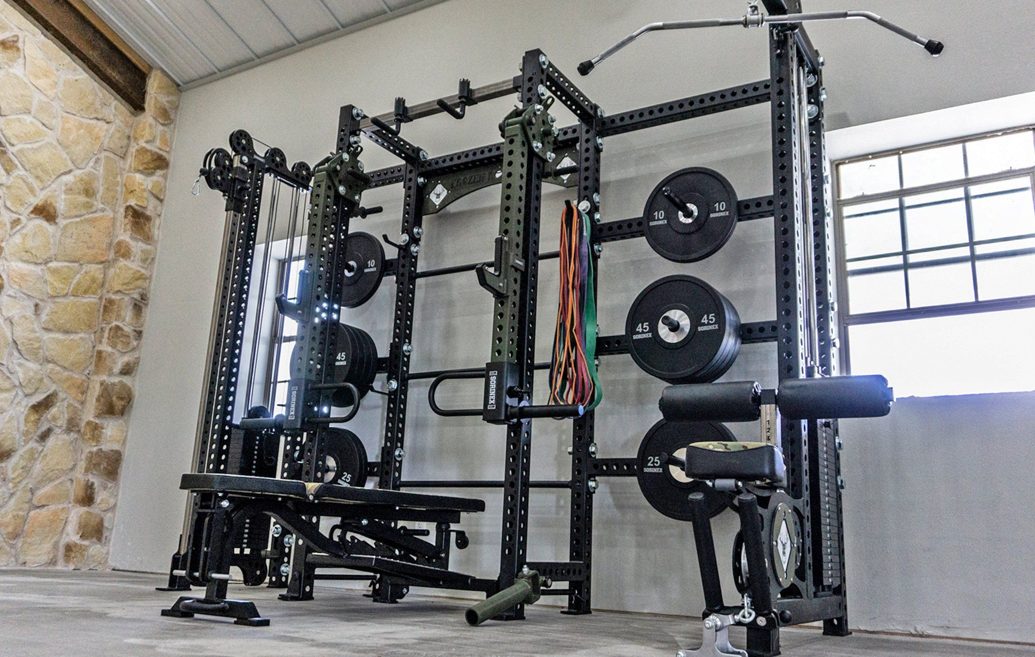 Custom Apex Rack By Sorinex Home Gym Flooring Gym Flooring Options At Home Gym