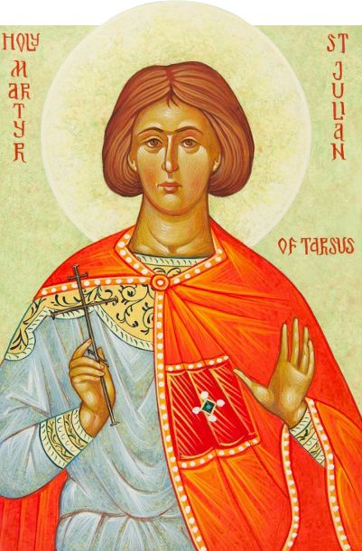 The son of a pagan Roman senator, Holy Martyr Julian of