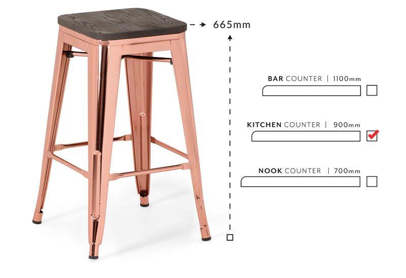 Matthew Metal Stool With Wood Top Bar Chairs Metal Stool Bar Chairs Stool