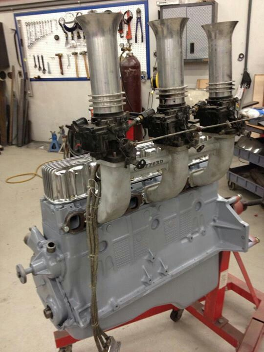 Chevy Straight 6 Gasser Motor Engineering Chevy Mechanical