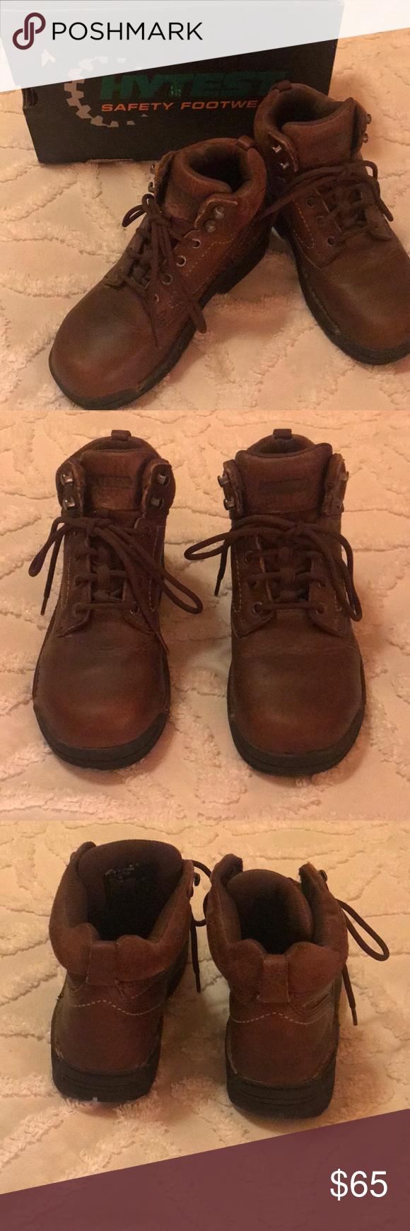 Women s steel toe boots Women s high top steel toe shoe. Only worn a couple  times 065abf7918