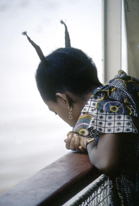 Congolese hairstyles c. 1970.