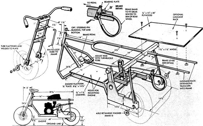 bicycle blueprints