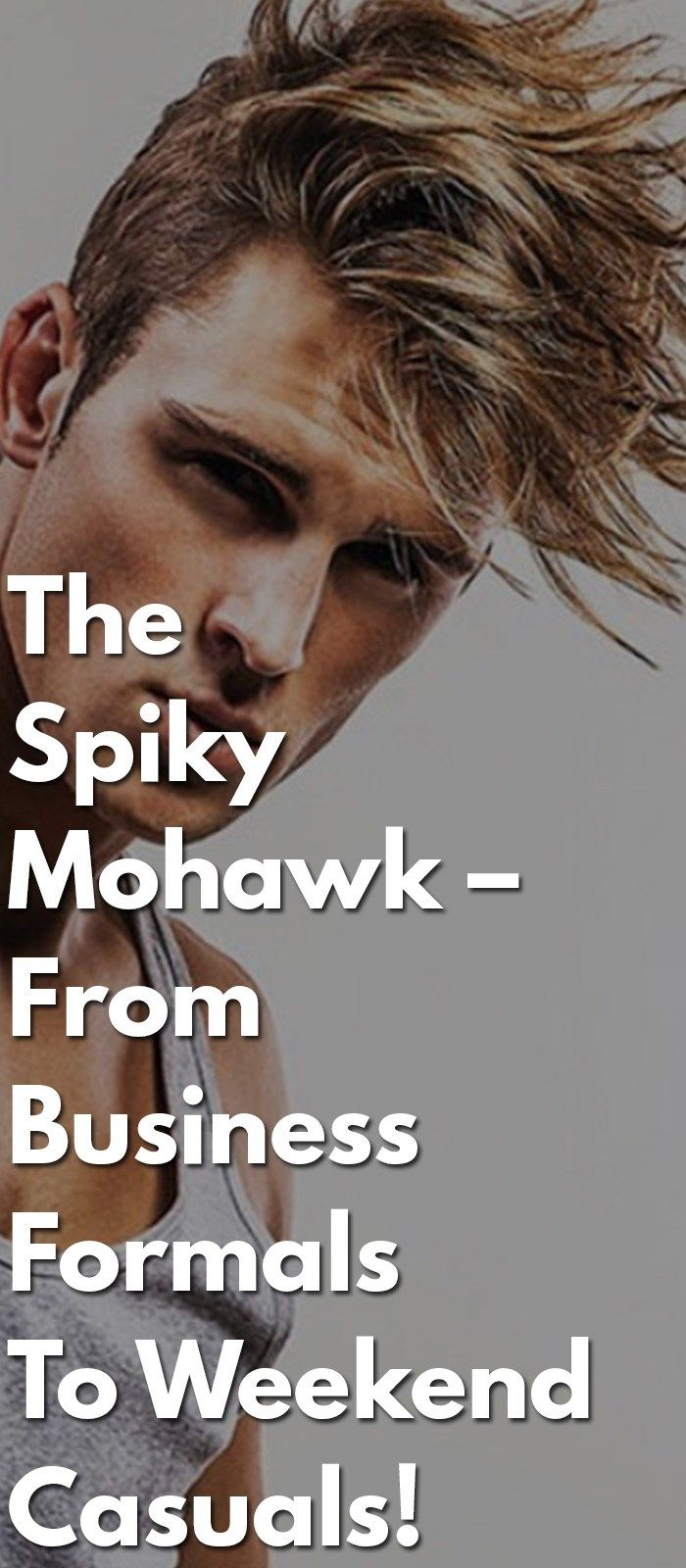 Spikey mohawk mens hairstyle pinterest business formal and mohawks