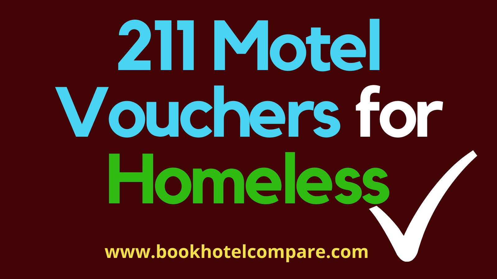 211 Motel Vouchers For Homeless Voucher Homeless Free Hotel