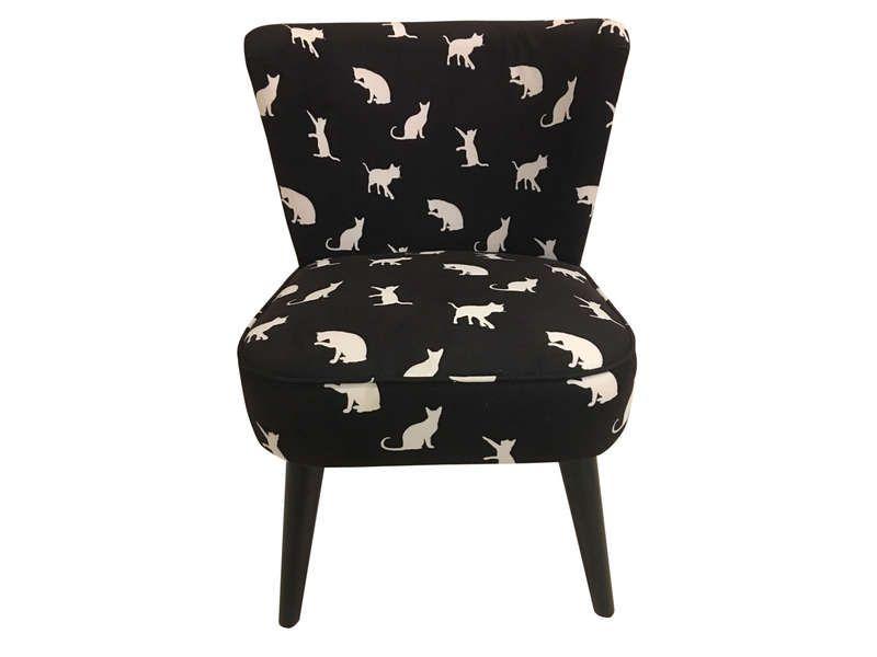Fauteuil en tissu MIAOU - Vente de Tous les fauteuils - Conforama