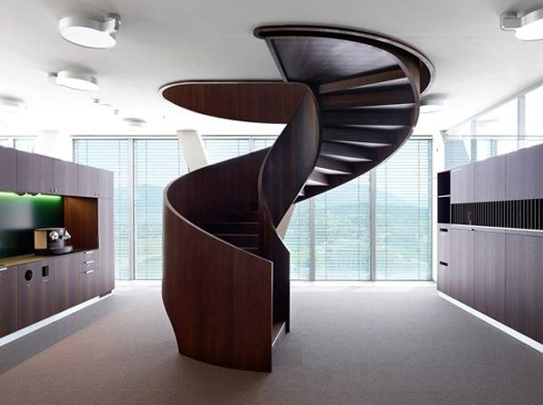 20 Unforgettable Modern Spiral Staircase Designs