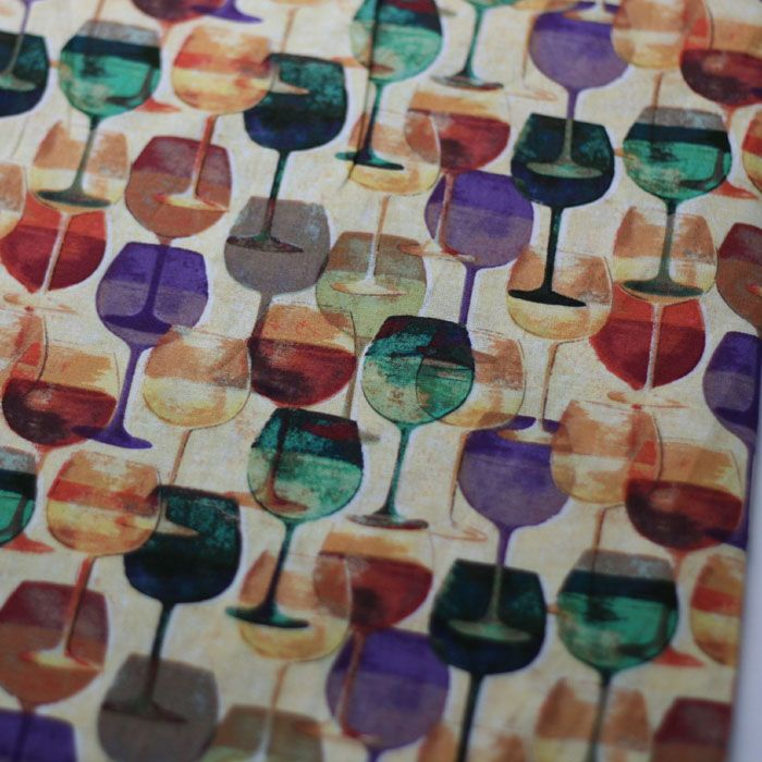 100x110cm Export Order Cotton Plain Vintage Upholstery Fabric for