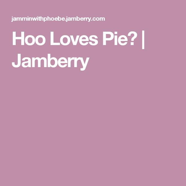 Hoo Loves Pie? | Jamberry