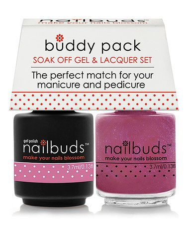 Another great find on #zulily! You're So Vervain Gel Polish & Nail Lacquer Buddy Pack #zulilyfinds
