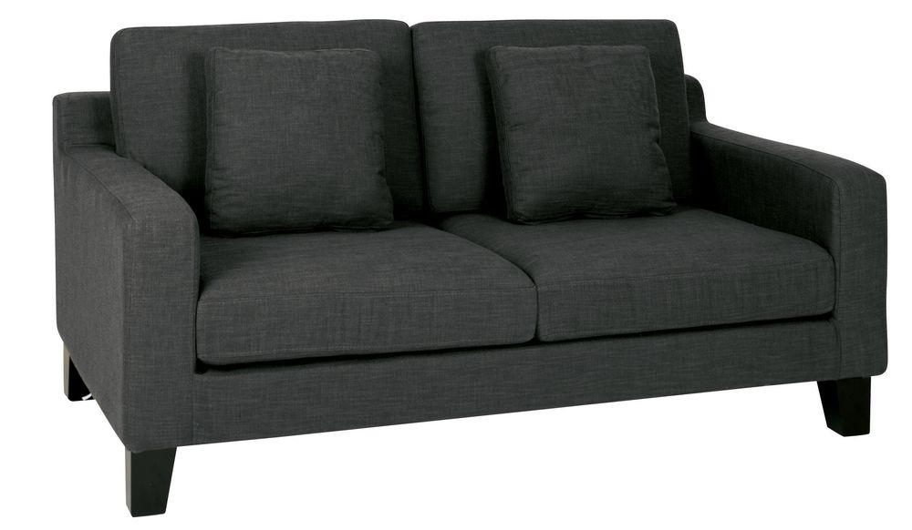 Amazing Ankara Two Seater Sofa Slate Dwell Furnishings Sofa Inzonedesignstudio Interior Chair Design Inzonedesignstudiocom