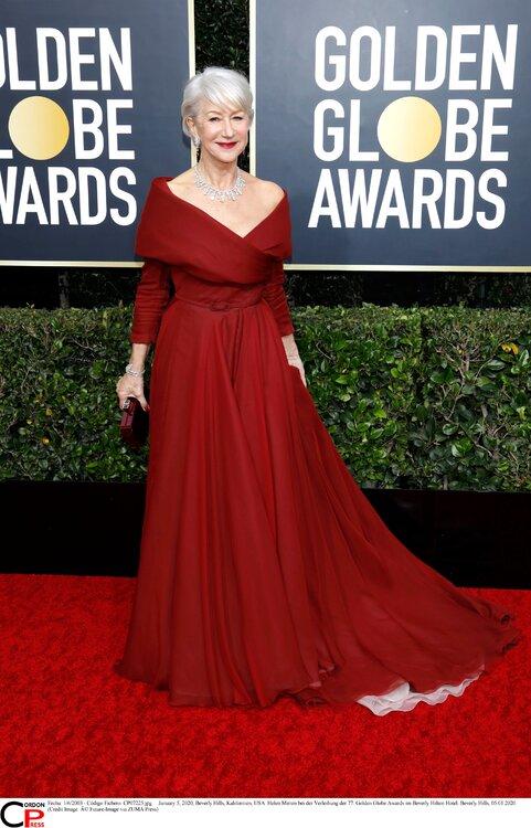 Die schönsten Looks vom roten Teppich der Golden Globes 2020! | Langes ...