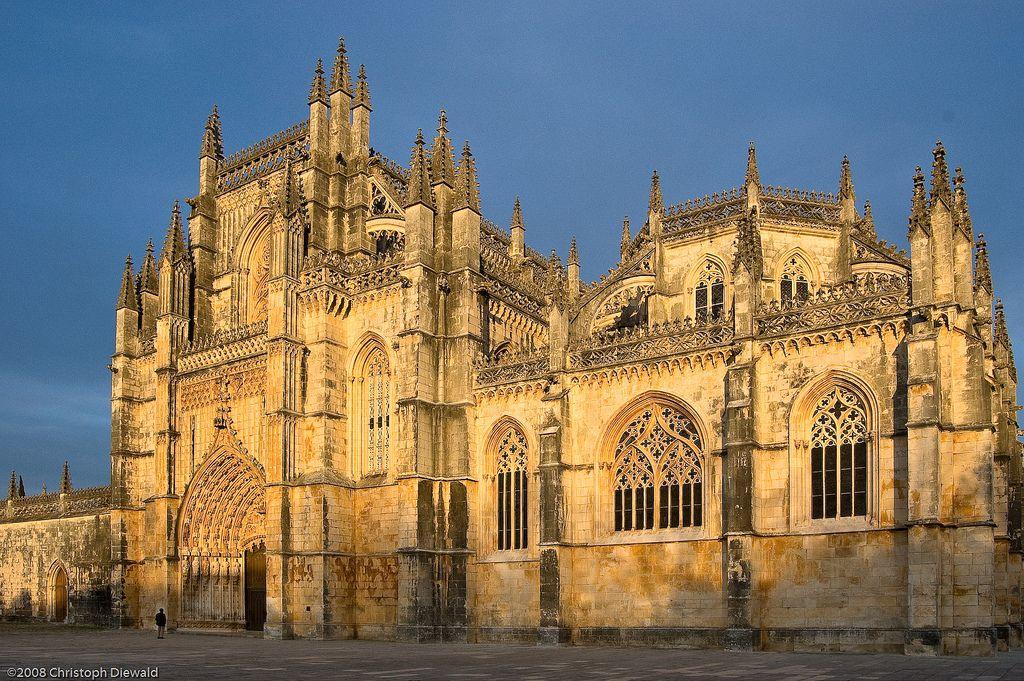 Christoph Diewald | Flickr Monastery of Santa Maria de Vitoria na Batalha, Portugal