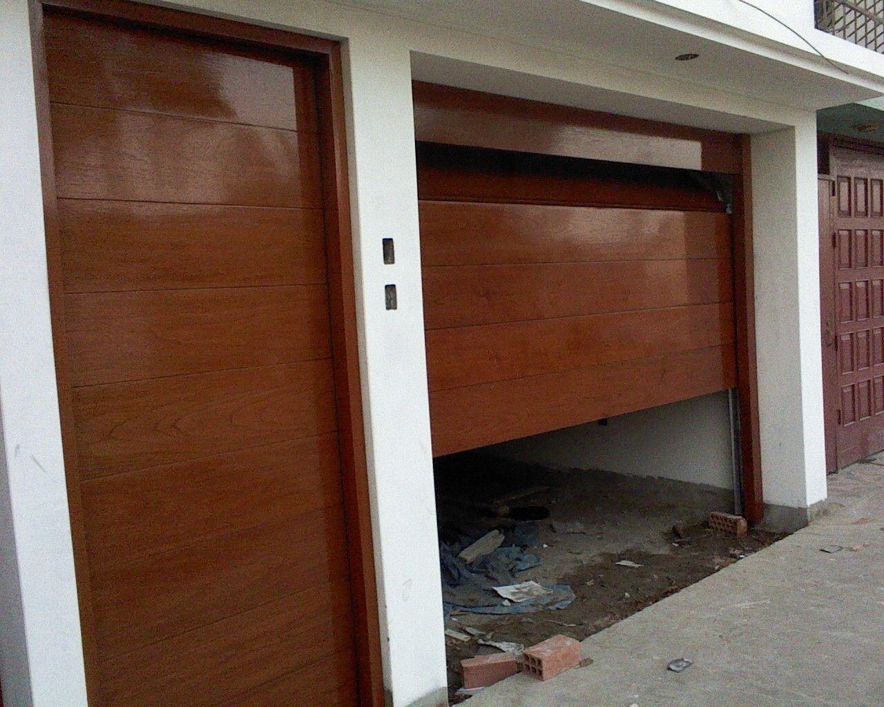 Precios de puertas de garaje beautiful deslizante de for Precio de puertas automaticas