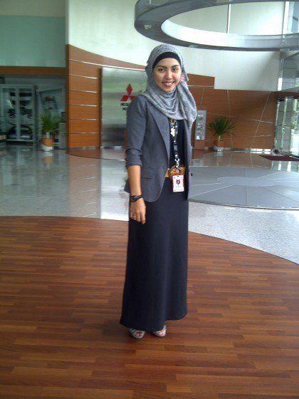 Hijab office Wear , 12 Ideas to Wear Hijab at Work Elegantly