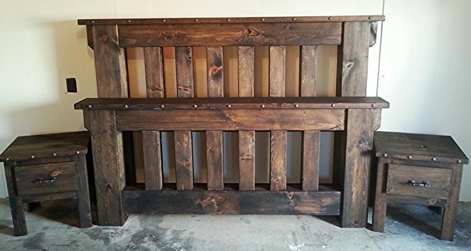 Http Www Roughcountryrusticfurniture Com Store P278 5 Piece Mission Style Bed 2a 2a 2a 2apri Rustic Furniture Decor Rustic Bedroom Furniture Rustic Furniture