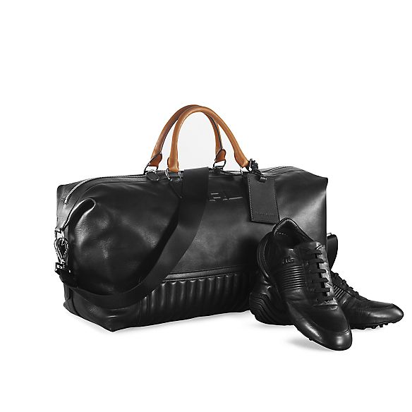 6c08042adc Quilted Leather Duffel Bag・MEN Bags