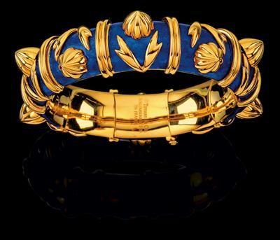 Un brazalete de 'conos' - Schlumberger para Tiffany & Co