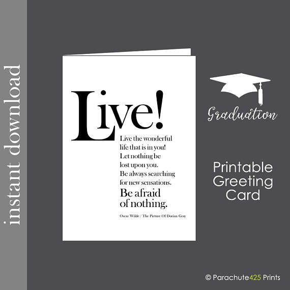 Printable Grad Card Dokya Kapook Co