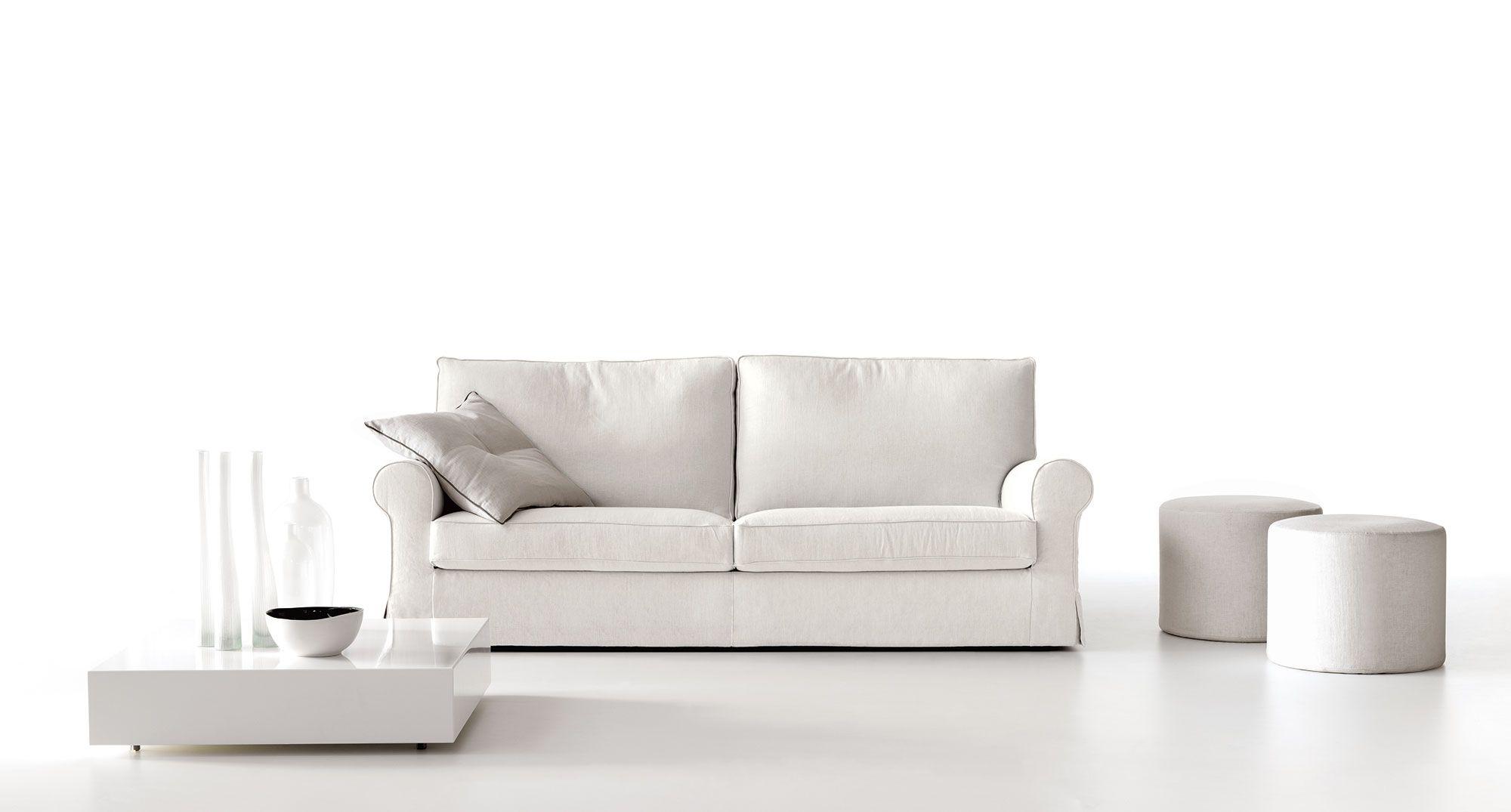 Divano Milord Traditional sofa, Fabric sofa