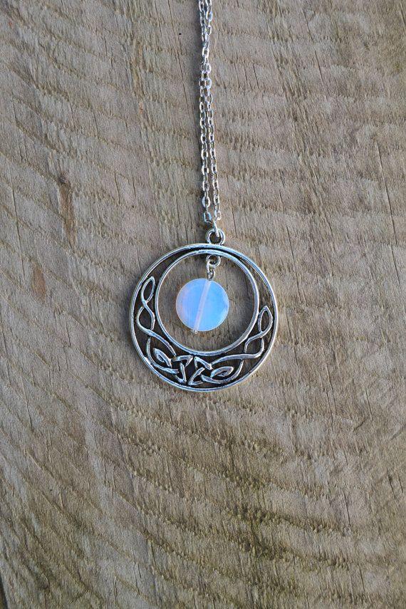 Outlander Celtic Knot Necklace Vintage Styled Necklace