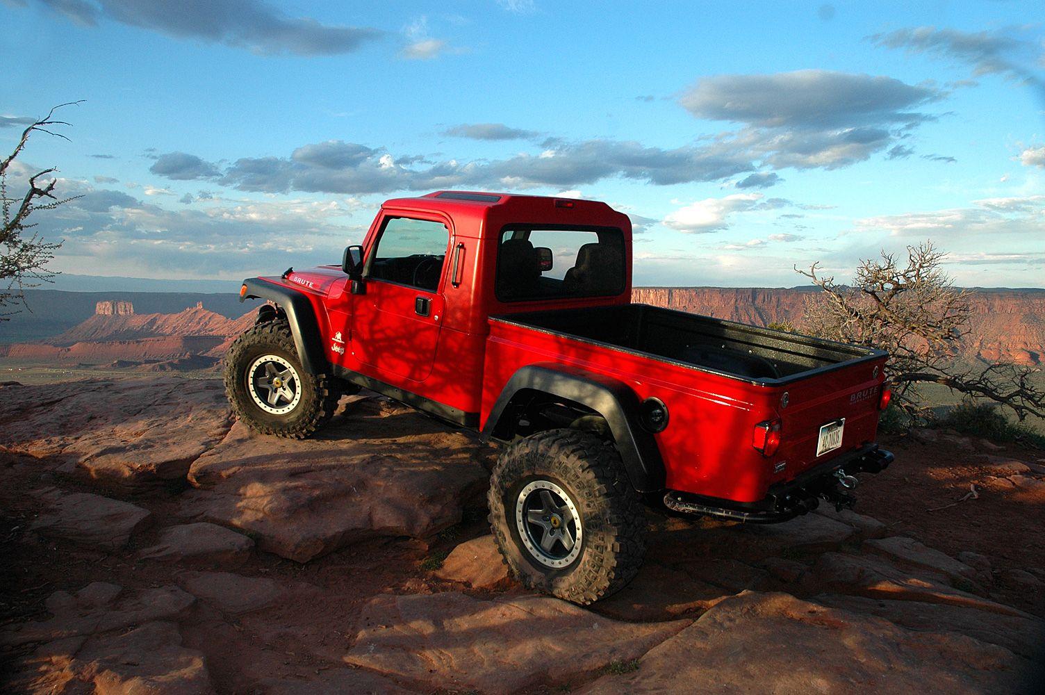 Brute truck conversion kit for jeep wrangler