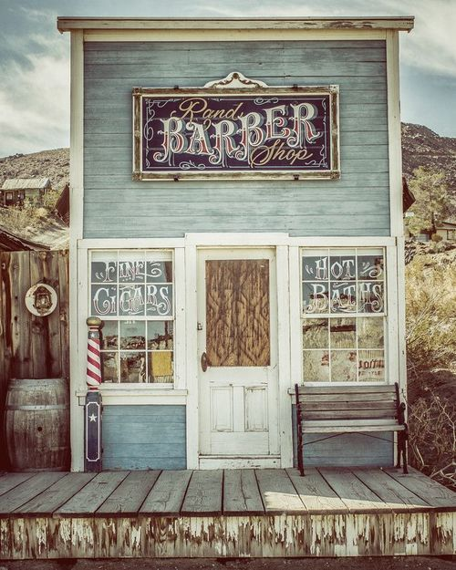 rustic photography barber shop country decor by apcphotocreations - Barbershop Design Ideas