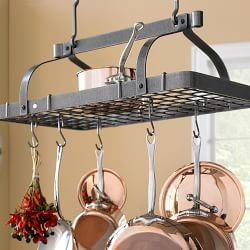 Pot Racks Williams Sonoma Pot Rack Hanging Pot Hanger Kitchen
