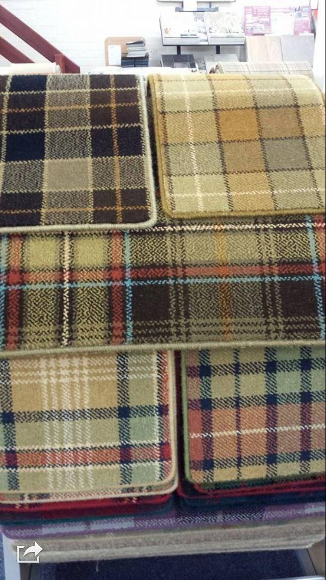 Pin by Muneera on منيره Tartan carpet, Stair runner