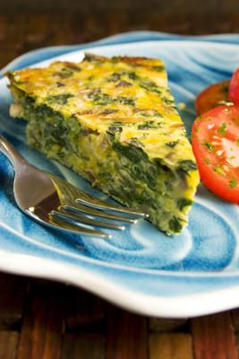 French women don't get fat leek and spinach quiche