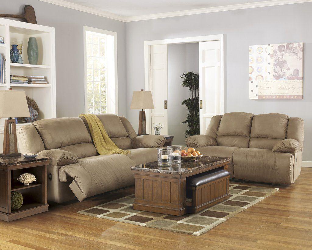 Hogan Contemporary Mocha Microfiber Two Seat Reclining Sofa And Loveseat Living Room Sofa Set Couch And Loveseat Mocha Living Room