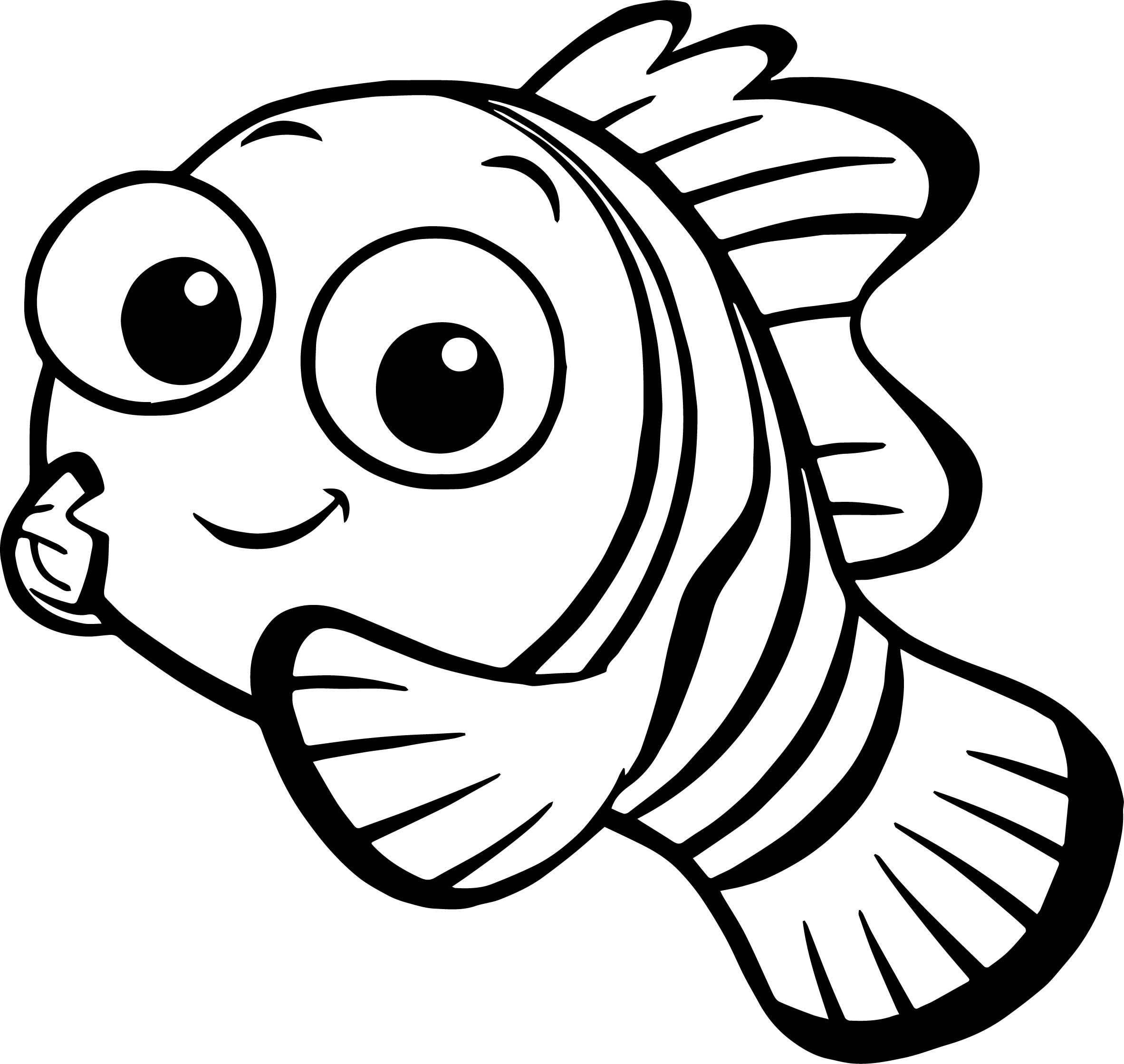 nice Disney Finding Nemo Nemo Coloring Pages Nemo