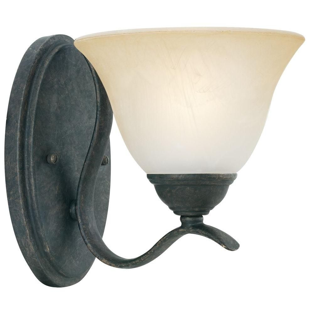 Thomas Lighting Prestige 1-Light Sable Bronze Wall Sconce
