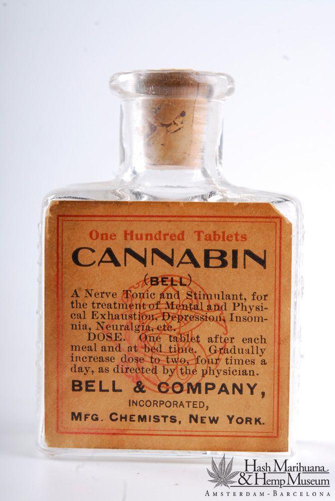 Medicine bottle, 19th century
