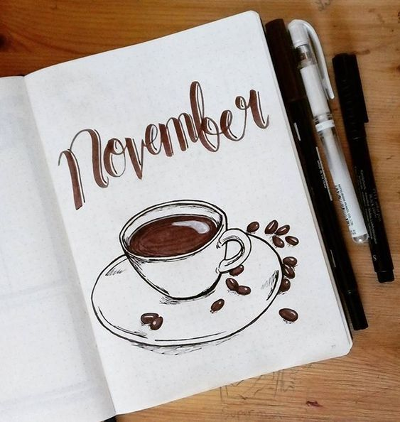The BEST 15 November Bullet Journal Covers!