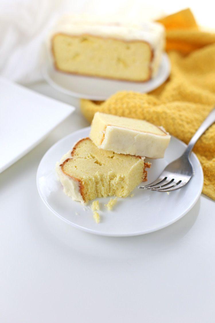 low carb lemon pound cake (gluten-free, keto-friendly) | recipe