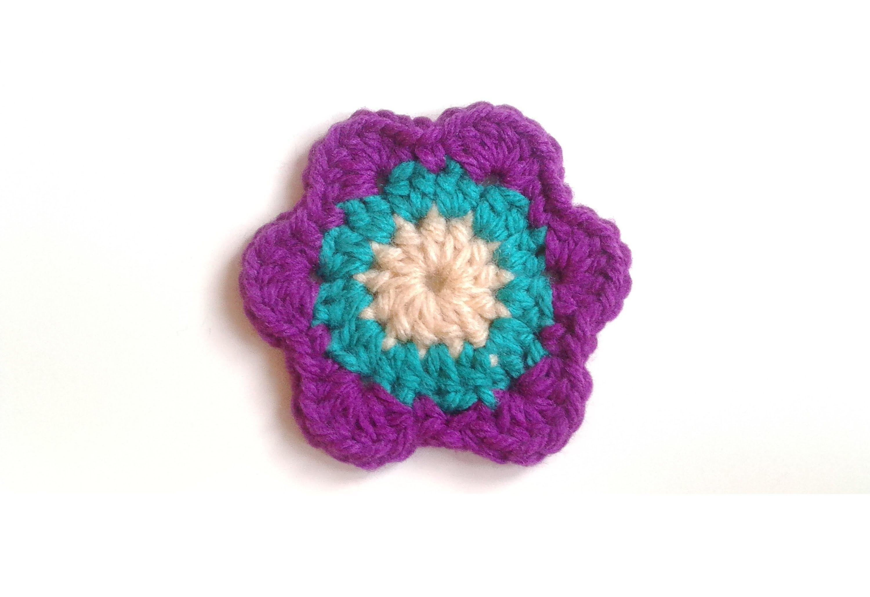 Tutorial Como Hacer Flor O Posavasos Facil Y Rapido De Crochet - Como-hacer-una-flor-a-crochet