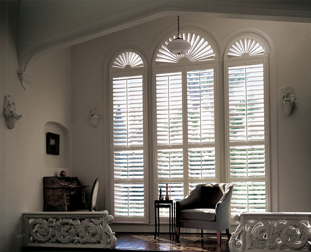 Eyebrow window coverings  as rich in character and style as they are in quality hunter