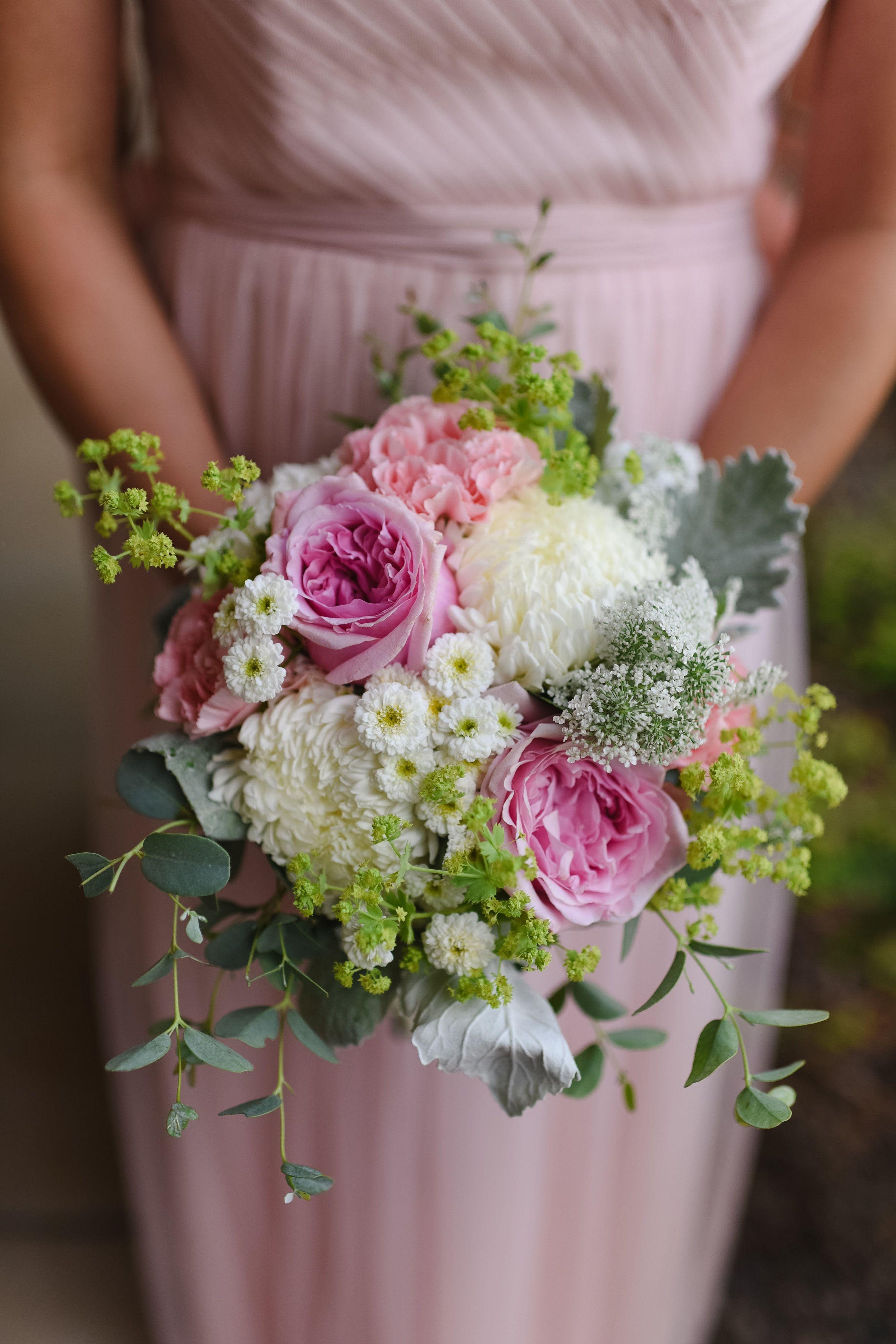 Pink and white bridesmaids bouquet designed by hilltop florist and pink and white bridesmaids bouquet designed by hilltop florist and greenhouse mankato mn izmirmasajfo