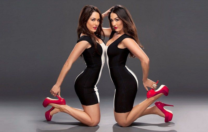 """Bella Twins Workout Routine And Tips who 5'6"""" and 125 lbs but they are a helluva lot stronger than they look. Let's check out Bella Twins workout routine and diet plan."""