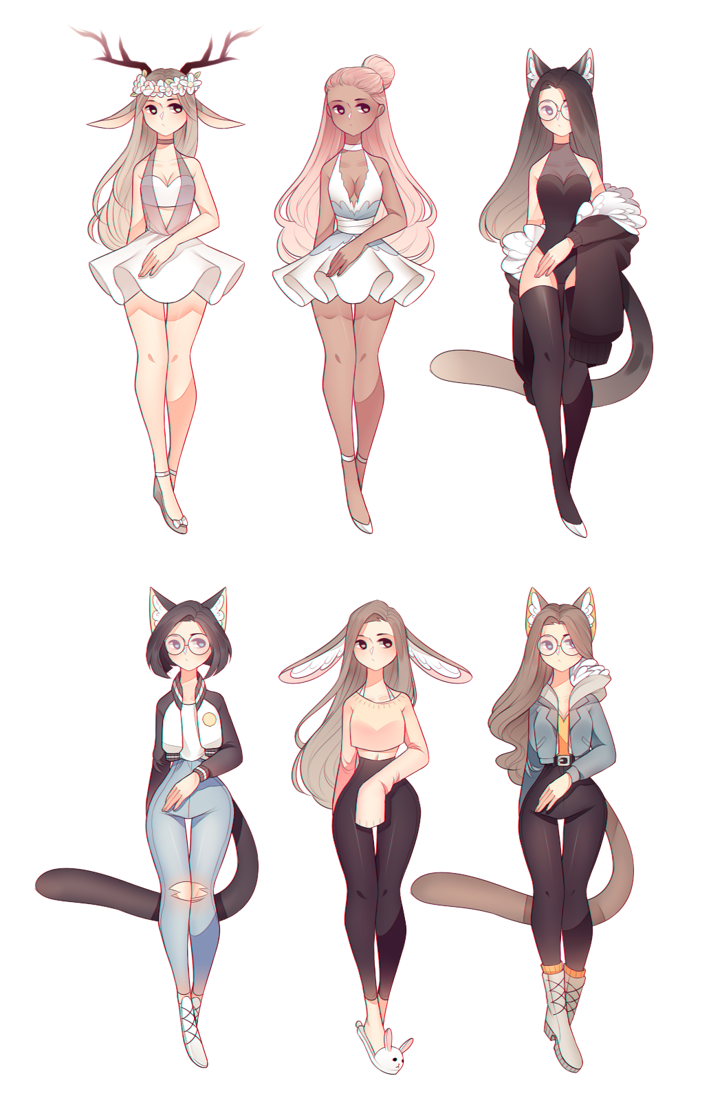 No Se Si Agregar Esto A Ideas Si Yo Creo Que Si Lo Pongo 3 Anime Character Design Cute Anime Character Cat Girl