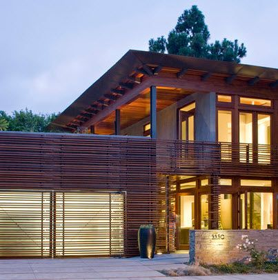Fachadas de madera de casas modernas Fotos Fachada de madera, El - fachada madera