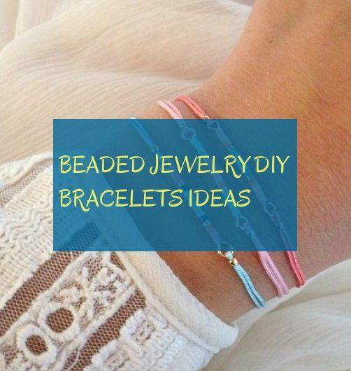 beaded jewelry diy bracelets ideas