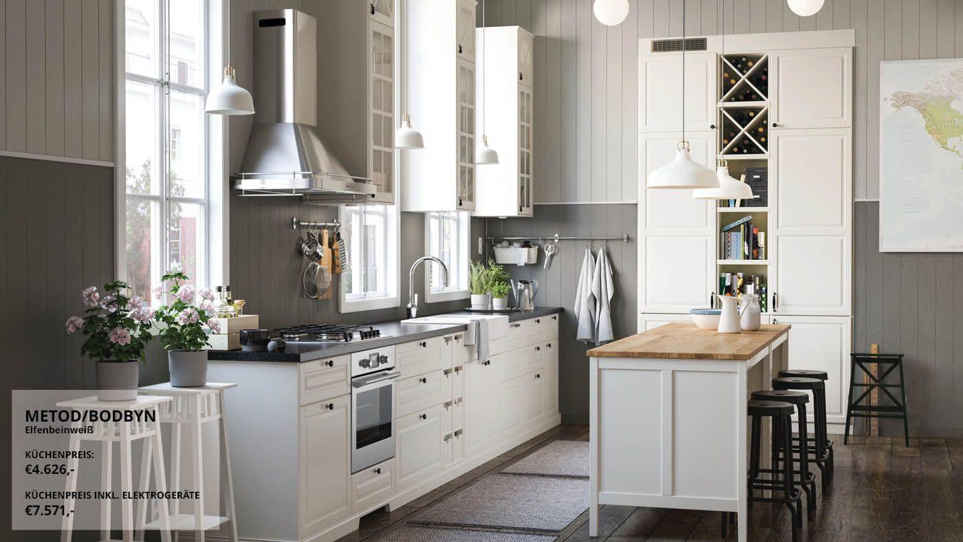 Küche im Landhausstil ist Trend! in 2020 | Ikea küche ...