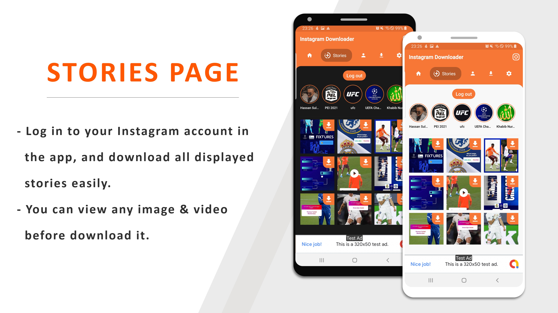 Instagram Downloader - Videos, Photos, Stories, Reels, ITGV - All In One Instagram Downloader App - 4