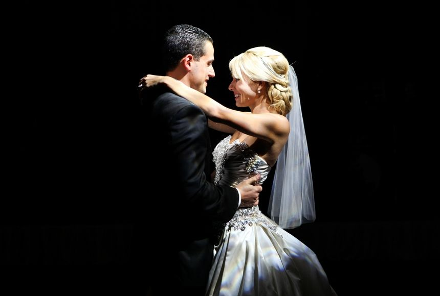 Surprise Bride And Groom First Dance Photo Montage Evantine