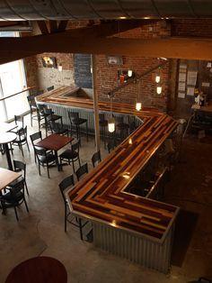 Renegade brewery bar top by Esinem Designs | decorative | Pinterest ...